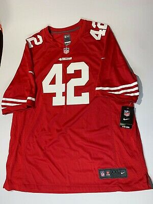 f0a4eaa4 Nike San Francisco 49ers Ronnie Lott Retired Player Jersey Size 2XL  468966-606