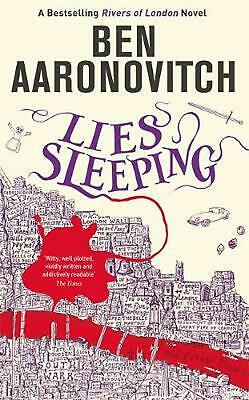 Lies Sleeping: The New Bestselling Rivers of London novel by Ben Aaronovitch Pap