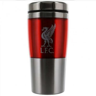 Liverpool FC Official 450ml Stainless Steel Travel Mug Brand New