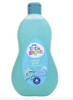 ASDA LITTLE ANGELS Vapour Bubble Bath, Miracle Worker