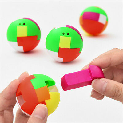 Intelligence Colorful Puzzle Assembly Balls Kids Game Funny Educational Toys JB