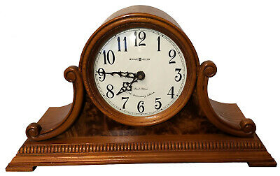 Howard Miller 77th Anv Yorkshire Oak Dual Chime Clock Anthony 635-113 See Video!