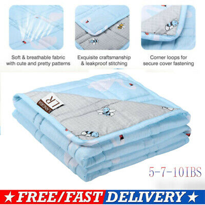Weighted Blanket Heavy Sensory Gravity for Youths or Kids Bedding Bed Cover Warm