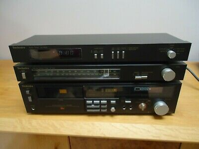 technics rs m 228x , st-z25 . sh 4020, boxed,  all working