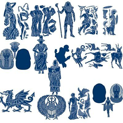 Egyptian God Godess Metal Cutting Dies Stencil Scrapbooking Embossing Paper Card