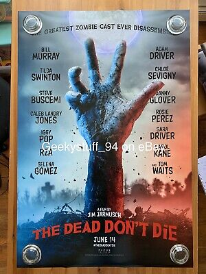 The Dead Don't Die DS Theatrical Movie Poster 27x40