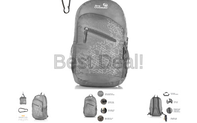 777cabb9ca56 OUTLANDER ULTRA LIGHTWEIGHT Packable Water Resistant Travel Hiking Backpack  D...
