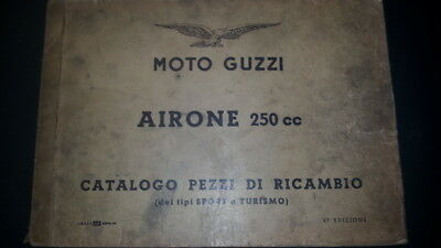 Moto Guzzi Airone 250 1958 catalogo ricambi originale spare parts catalogue