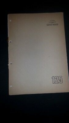 Moto Guzzi 125 T 1975 catalogo ricambi ORIGINALE spare parts catalogue