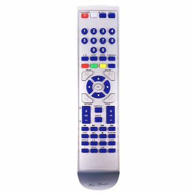 NEW RM-Series Replacement DVD Player Remote Control for Toshiba SD170EKB2