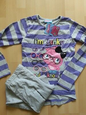 BNWT GIRLS MOSHI MONSTER POPPET PYJAMAS 8-9 YRS purple NEW  night wear pjs