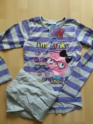 BNWT GIRLS MOSHI MONSTER POPPET PYJAMAS 9-10 YRS purple NEW  night wear pjs