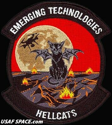 Usaf 412Th Operations Group - Emerging Technologies - Hellcats - Original Patch