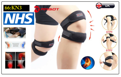 Patella Knee Support Tendon Strap Running Sports Pain Neoprene Brace Arthritis