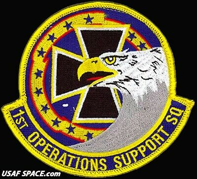 USAF 1ST OPERATIONS SUPPORT SQUADRON - Langley AFB, Va - ORIGINAL VEL PATCH