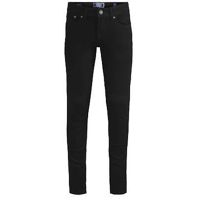 Kids Boys Jack and Jones Original Liam Skinny Jeans Junior Zip New
