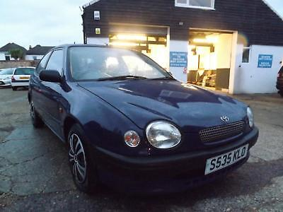 Toyota Corolla 1.3 ( pwr/sr ) ( a/c ) GS WILL COME WITH NEW MOT!