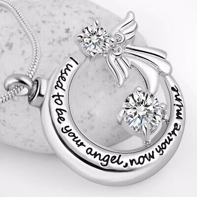 Urn Necklace Cremation Jewellery Ashes Pendant Locket Keepsake Memorial Funeral