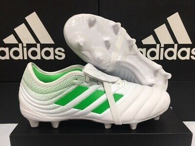 a30106ef6940 Adidas Copa Gloro 19.2 FG Soccer Cleats Cloud White/Solar Lime Sz: