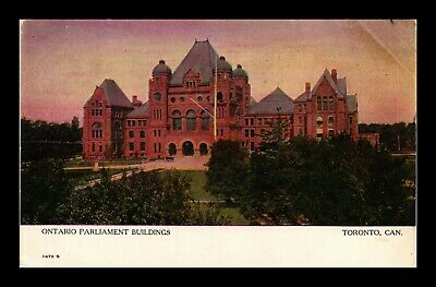Dr Jim Stamps Ontario Parliament Buildings Postcard Toronto Canada