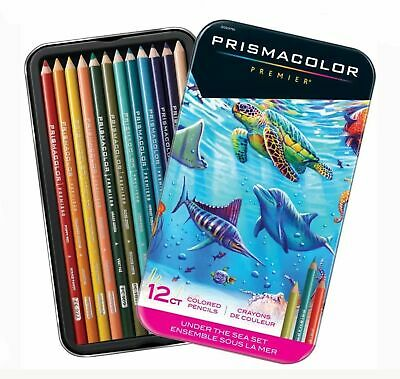 Prismacolor Premier UNDER THE SEA 12pc Colored Pencil Set Soft Core