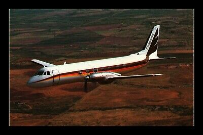Dr Jim Stamps Chaparral Airline Gulfstream 1C Airplane Transportation Postcard