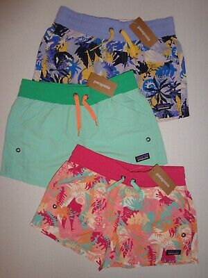 b150729f85 PATAGONIA Girls' Costa Rica Baggies Shorts - 67087 - size Medium ...