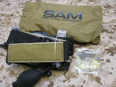 New In Box Sam Junctional Tourniquet Complete Hemorrhage Control (Br)