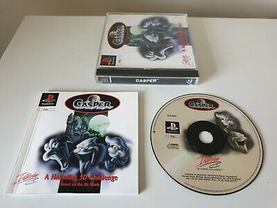 CASPER : A HAUNTING 3D CHALLENGE. PS1 Game. COLLECTIBLE. (PlayStation One, PAL)