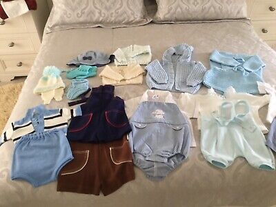 A bundle of boys vintage outfits & other items age range 0-18 months