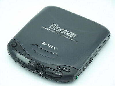 Sony Discman D-141 Personal CD player with Mega Bass