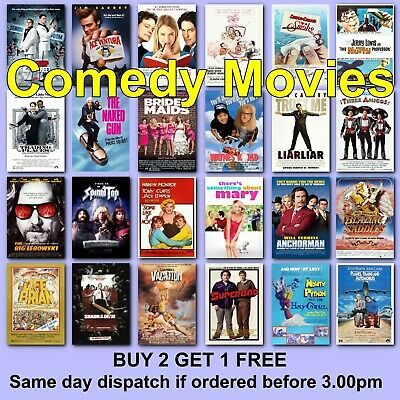 Classic Comedy Movie Posters Film Poster Movies Films HD Borderless Printing