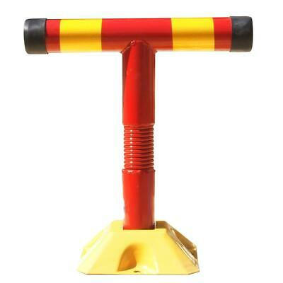 KATSU Tools Security Post Bollard Parking Post With Flexible Spring
