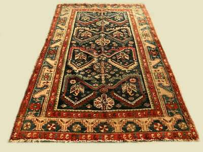 Original Tapis Persan Malayer Antique 1920 Fait Main 192 x 128