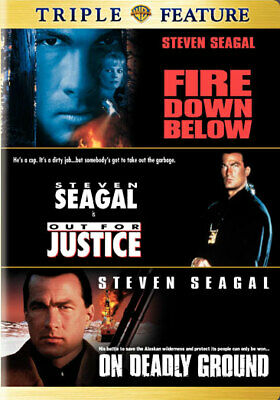 Warner Home Video D75052D Tf-Fire Down Below/Out For Justice/On Deadly Ground...