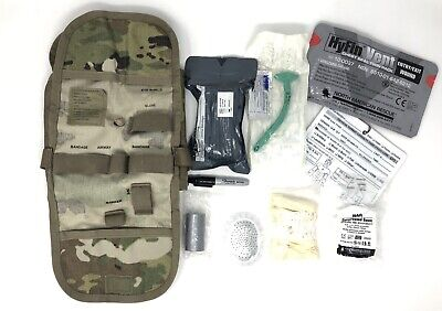 USGI IFAK II Military Individual First Aid Kit Medical Field Gear Complete Pack