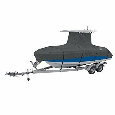 """Center Console T-Top Roof Boat Cover, For 20'-22' Long, up to 106"""" Beam Width"""