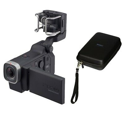 Zoom Q8 Handy Video Recorder with Zoom SCQ-8 Carrying Case