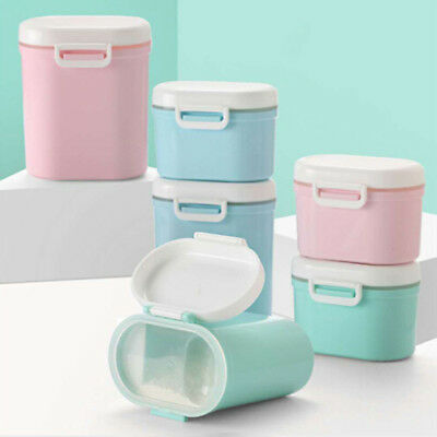 Portable formula milk storage container for travel R Gr TPD