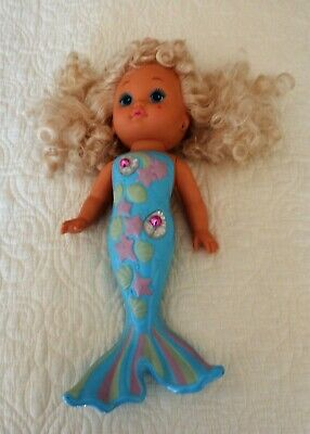 Vintage 1988 Mattel Lil Miss Mermaid Singing Color Changing Girl Doll Toy