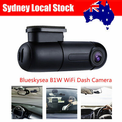 B1W 1080P Mini WiFi Car Dash Camera DVR 360° Rotate Capacitor G-Sensor Sydney!