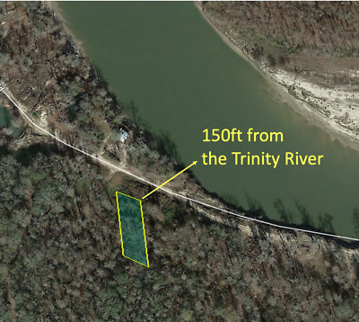 $1 Min Bid.  Winner Gets The Deed.  150 Feet from the Trinity River