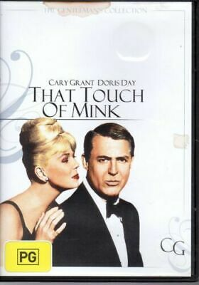 That Touch Of Mink Doris Day (Region 4) RARE FILM MOVIE PAL DVD NEW SEALED