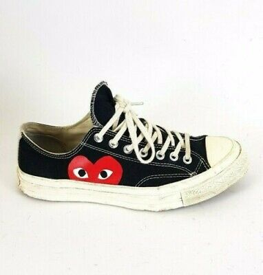 Play Garcons Converse X Comme Uk Star Low 9 Trainers Top All Des Black kwP0nO