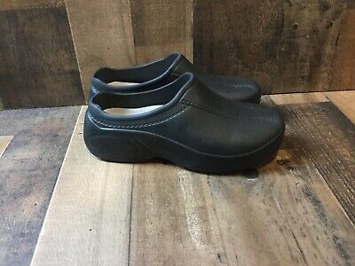 2fbf217fea167 NATURAL UNIFORMS WOMENS Ultralite Strapless Clogs Black Size 10 ...