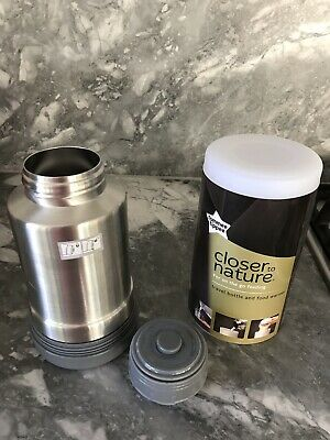 NEW! Tommee Tippee Closer to Nature Travel Bottle and Food Warmer BPA Free