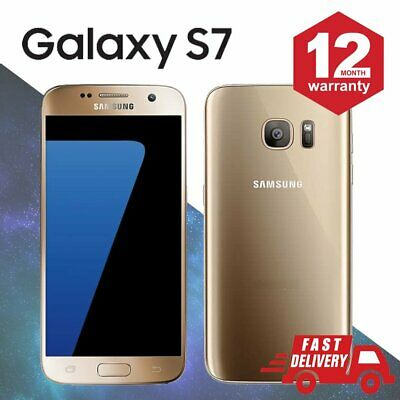 ☀️Samsung Galaxy S7 32GB Android Unlocked Mobile Phone Gold