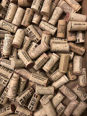 100 Assorted Wine Corks For Arts & Crafts Or Wall Board