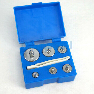 Box of Set 5g 10g 20g 50g 100g Chrome Plating Steel M2 200g Calibration Weights