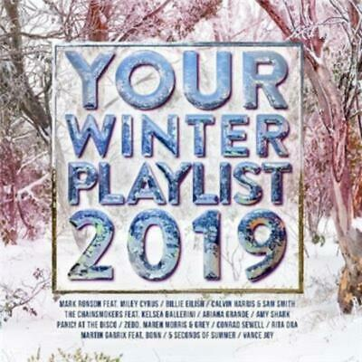 YOUR WINTER PLAYLIST 2019 - Various Artists 2CD *NEW* 2019